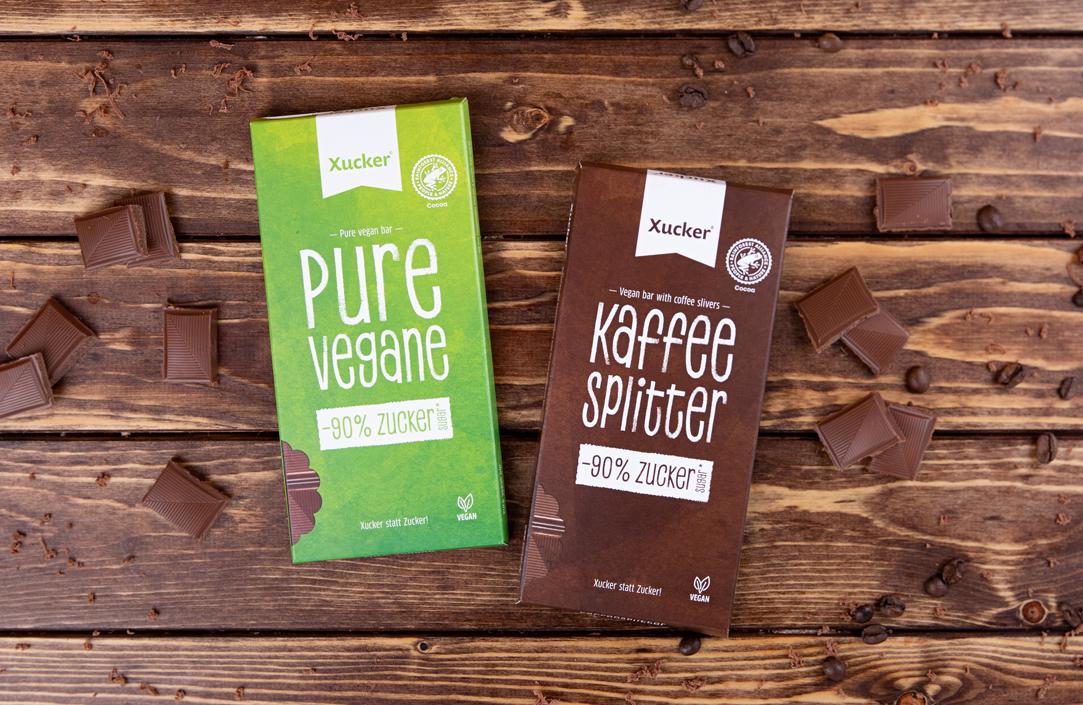 Vegane Xylit-Schokoladen 2er-Set