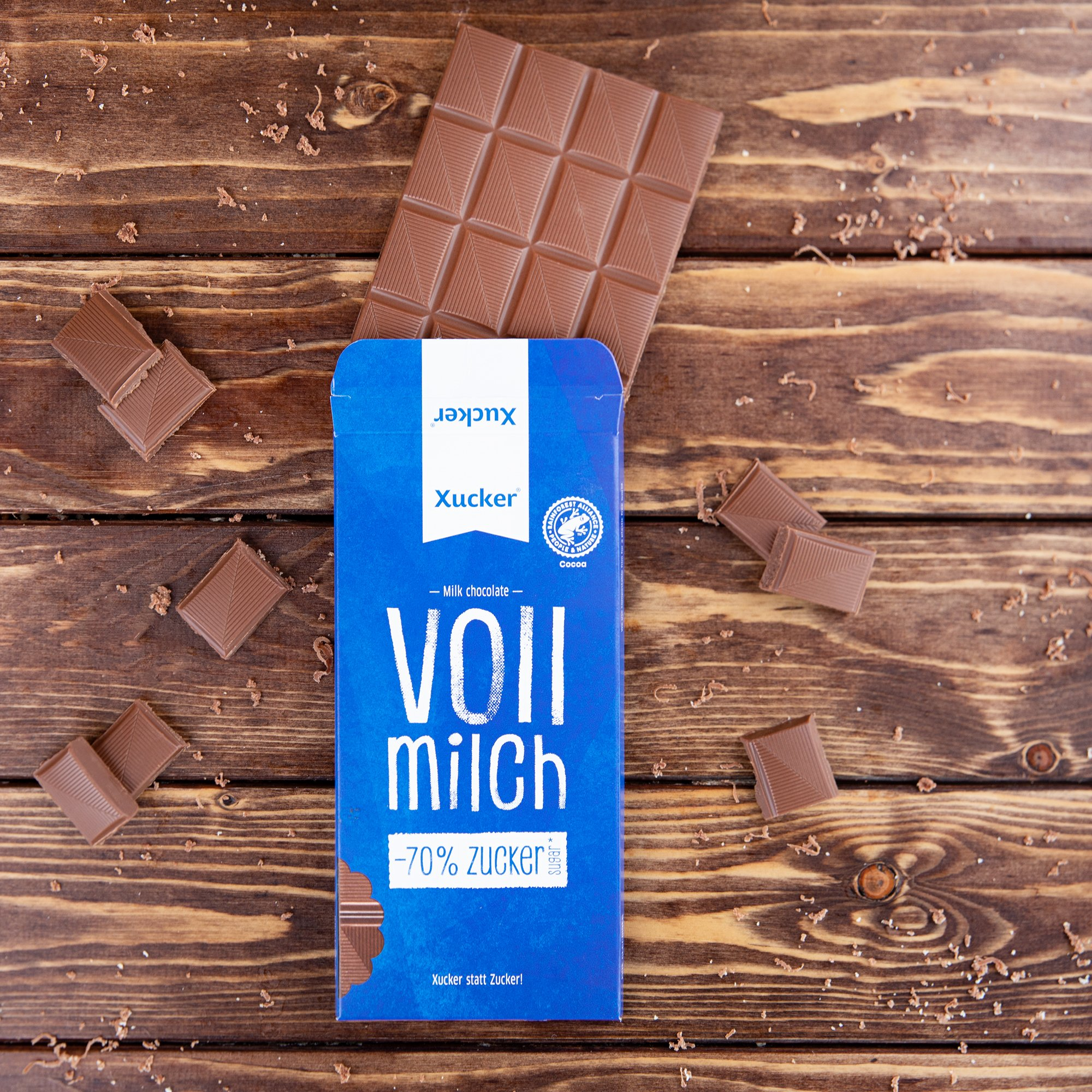 Xucker Schokolade Vollmilch